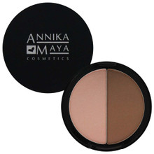 Annika Maya Contour Powder Duo - Afternoon Delight