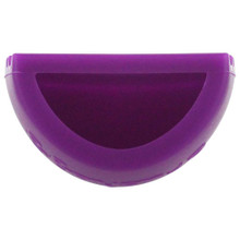 Brushegg Silcone Makeup Brush Cleaning Tool - Purple