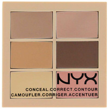 NYX Conceal, Correct, and Contour Palette - Light