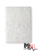 "Mild light duty abrasive pad 6"" x 9"""