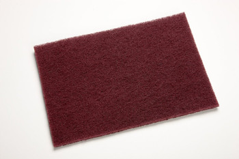 Maroon Abrasive Pad- Great for removing rust by dipping pad into rust remover and lightly scrubbing light rust