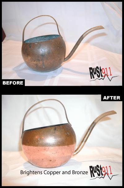 Corroded Brass Pot