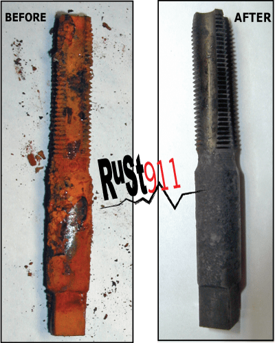 Rusted Metal Taps