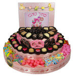 Large Round Three Tier Centerpiece-Girl