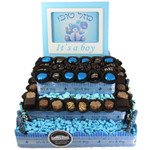 Three Tier Square Centerpiece-Boy