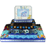 Large Rectangle Four Tier Centerpiece-Boy