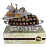 Serving Dish with Chocolate Truffles
