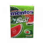 Mentos Watermelon Juice Blast Gum