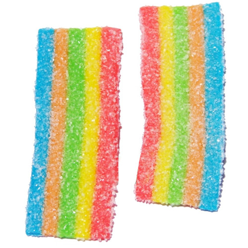 Mini Rainbow Sour Belts