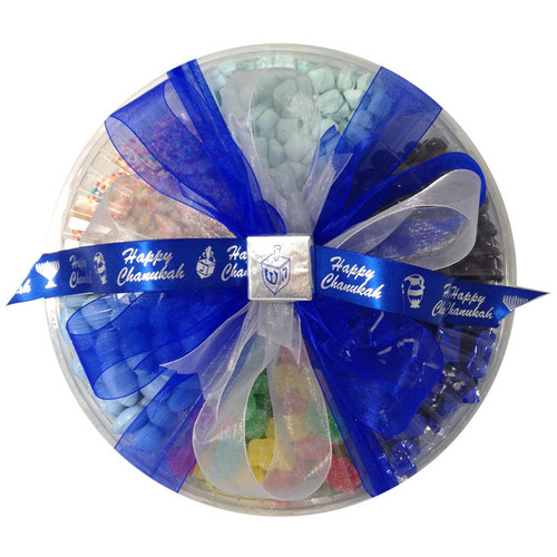 Chanukah Six Sectional Candy Platter