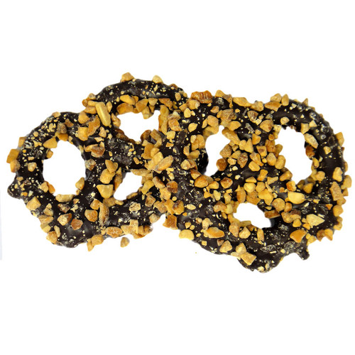 Chocolate Covered Pretzel with Nuts