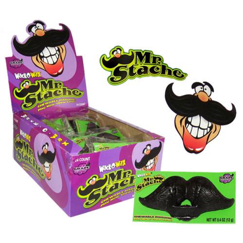 Wack-O-Wax Mr. Stache Wax Candy Mustache