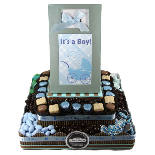 Large Two Tier Centerpiece-Boy