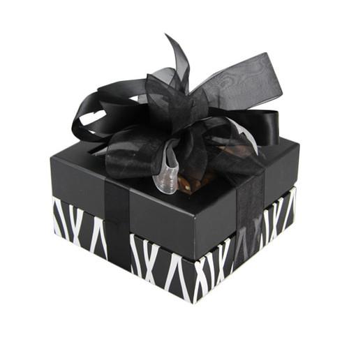 Black and White Square Box