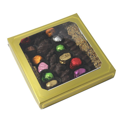 Passover Large Gold Box