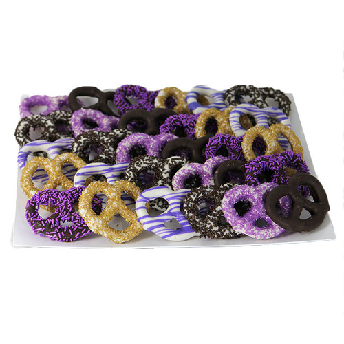 Purple Passion Pretzel Platter