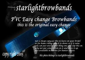 PVC easy change clip on