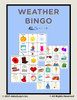 Weather Bingo: Pages 21