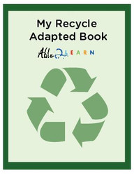 Learning Definitions Recycle Adapted Book: Pages 8