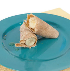 Banana Peanut Butter and Honey Wrap  Visual  Recipe And Comprehension Sheets: Pages 21