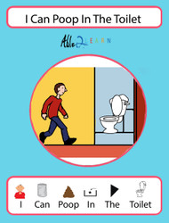 I Can Poop In The Toilet Social Story: Pages 10
