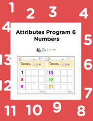 Learn Sequence With Numbers: Seriation:  Pages 8