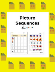 Picture Sequence: ABLSS-R Target: Seriation:  Pages 8
