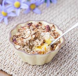 mango cobbler visual recipe, cooking curriculum , cooking lesson plans
