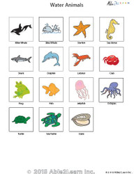 PECS - Water Animals