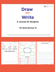 Draw And Write Journal - Boys Version