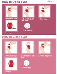 Illustrated Cooking Skills - How to Open a Jar