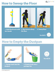 Illustrated Skills - How to Sweep the Floor