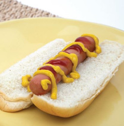 Hotdog with Ketchup & Mustard Toaster Oven Recipe And Comprehension Sheets: Pages 22