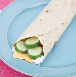 Cucumber Cheese Wrap Recipe And Comprehension Sheets: Pages 18