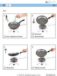 Cooking Skills - How to Grease a Pan