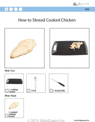 Cooking Skills - How to Shred Cooked Chicken