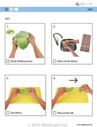 Cooking Skills - How to Tear Lettuce