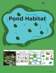 Learn About Habitats: Ponds:  PAGES 67