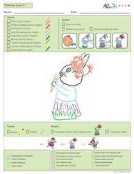 Colouring Program Guided- Animals-  Level 4c - Pages 8