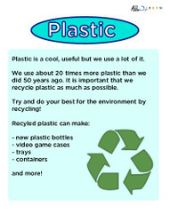 Plastic Facts Poster:  PAGES 1
