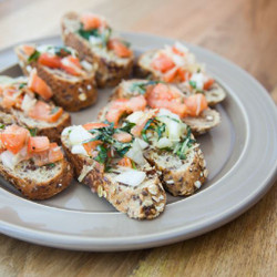 Bruschetta  Visual Recipe And Comprehension Sheets: Pages 33