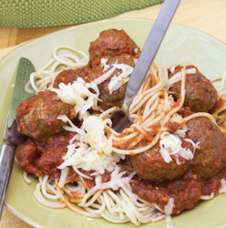 Spaghetti With Meat Balls And Cheese  Visual  Recipe And Comprehension Sheets: Pages 38