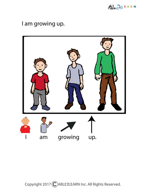 What Is Puberty Boy Version Social Story