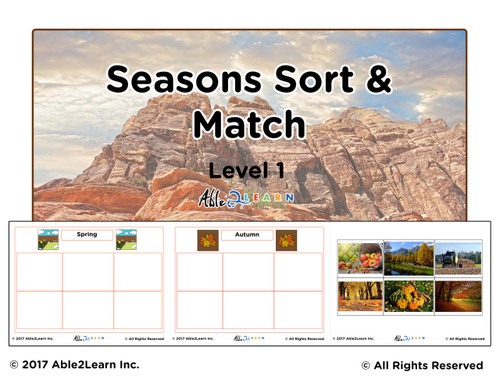 Four Seasons Sort and Flashcards: Pages 10