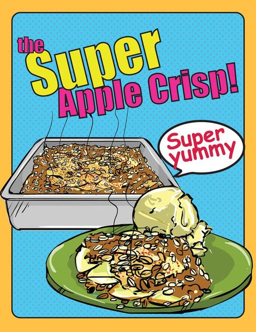 Free apple crisp starring niam jain autism artist visual recipe apple crisp starring niam jain autism artist visual recipe step by step forumfinder Choice Image