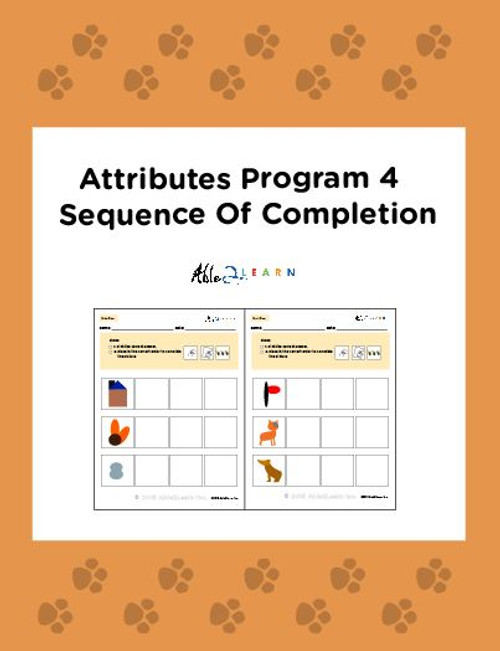 Learn About Attribution With Pictures: Seriation:  Pages 8