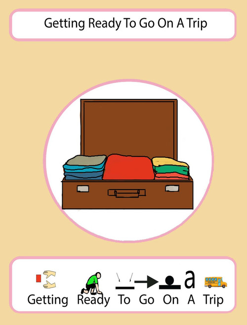 I Am Getting Ready To Go On A Trip: Pages 14