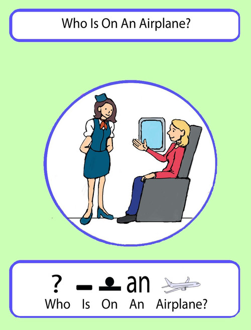 Who Is On An Airplane: Pages 13