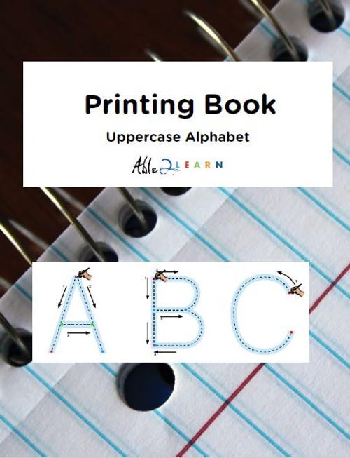 Printing Book - Uppercase Alphabet