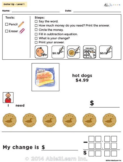 Hotdog Toaster Oven Recipe And Comprehension Sheets Pages